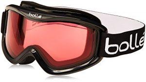Bollé – 20571 – Mojo – Masque de ski – Mixte – Multicolore (Shiny Black Vermillon/Rose) – Taille Unique
