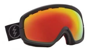 Electric EGB2s Snow Goggle (Yellow Lens Included), Solar, Bronze/Red Chrome by Electric Visual Goggles
