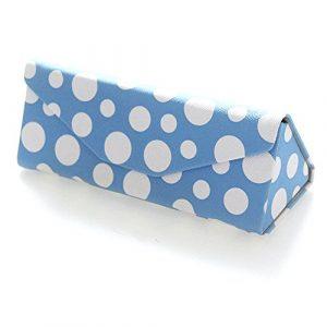 MonoTele – Étui à lunettes – Femme Taille unique – Bleu – Taille unique
