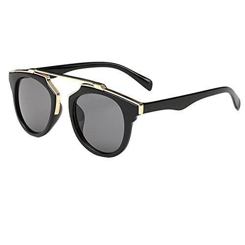UNIQUEBELLA Lunettes de soleil Femme UV400 85-93#1 Noir