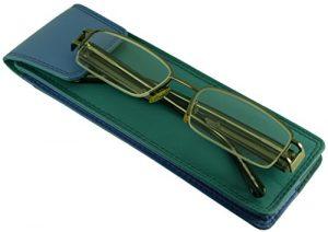 Hide & Sleek – Étui à lunettes – Femme Turqouise/Light Blue petit