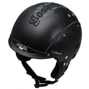 Casco Casque de ski SP-3Limited Edition Crystal Snow, rigide inclus, sans lunettes de ski, noir