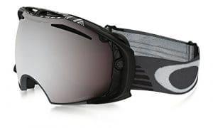 Oakley Masque de Ski Snowboardbrille Airbrake Snow PRIZM SW SIG GUNMétal Grey, EL. Adjustable
