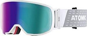 Atomic, Masque de Ski All-Mountain, Unisexe, pour Tout Type de Luminosité, Small Fit, Monture Live Fit, Construction FDL, Écran Stereo HD, Revent S FDL HD, Blanc/Vert Stereo HD, AN5105416