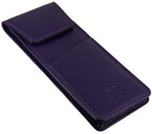 Hide & Sleek – Étui à lunettes – Femme HS Purple Magnetic Fastener petit