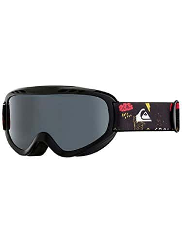 Quiksilver EQBTG03009 Masque de Ski/Snowboard Garçon Black Maoam Tatt Taille Unique