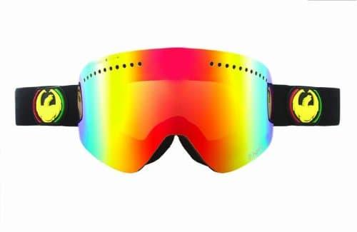 Masque de ski Dragon NFX – Rasta / Red Ionized + Yellow Blue Ionized