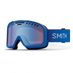 SMITH Project Masque de Ski Mixte Adulte, Bleu Impérial