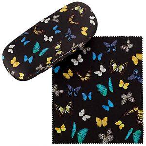 VON LILIENFELD Étui Lunettes Femme Motif Danse des papillons
