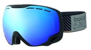 Cébé Emperor Masque de Ski Mixte Adulte, Black Stripes, M/L