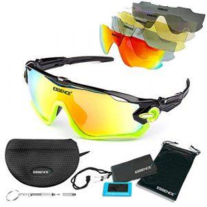polarisées lunettes de soleil Sports/lunettes de cyclisme pour hommes et femmes-sport extérieur ski Running le Golf pêche voile-protection UV400 polarisée-accessoires inclus