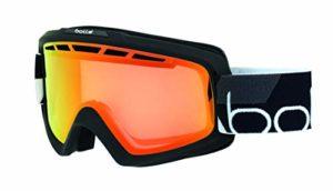Bollé – NOVA II – Masque de Ski – Mixte – Adulte – Noir Mat – M/L