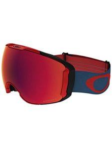 Oakley Airbrake Masque de Ski, Unisexe Adulte, Teint Bleu