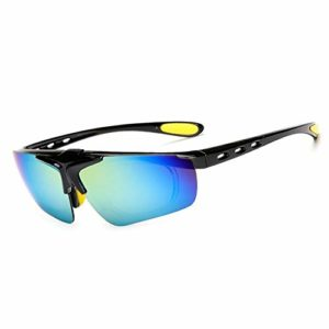 2 PCS / LOT New Sky lunettes de soleil Hommes Et Femmes Lunettes d'équitation Vélo En Plein Air Sport Lunettes Myopia Lunettes De Soleil Lunettes d'extérieur ( Couleur : 5 , UnitCount : 2PCS )