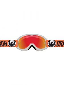 Dragon 316715129536 Masque de Cyclisme Mixte Adulte, Flash Orange
