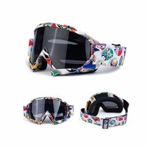 ETbotu Lunettes de Ski Unisexe Lunettes de Ski Lunettes de Snowboard Lunettes Anti-Sable Coupe-Vent Lunettes Respirantes