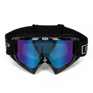 ISIYINER Lunettes de Ski Protection Anti-UV Ski Goggles Coupe-Vent Snowboard Goggles pour Hommes et Femmes Lunette de Snowboard Moto Motoneige