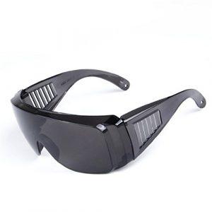 Lunettes de protection – Lunette pour Protéger les Yeux avec des Verres en Plastique Transparents – anticondensation, résistantes aux rayures-Safety Glasses-Taille Confortable