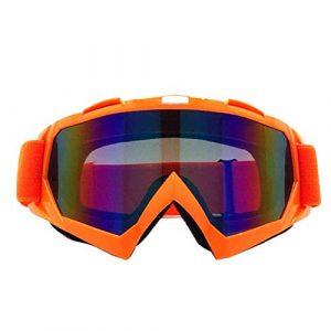 Lunettes de Soleil Ski Unisexe Lunettes de Ski Snowboard Masque d'hiver de motoneige Motocross Lunettes de Soleil Coupe-Vent Protection UV Sports d'hiver Lunettes (Color : M)