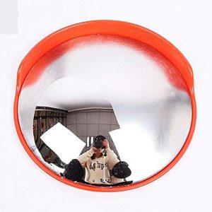 LYDIANZI Sécurité routière Miroir, extérieur Universel avec Miroir de sécurité Chapeau Convex, 230 ° Grand Angle, Clair, Plus réfléchissant avec des matériaux Plus durables (Size : 120cm)