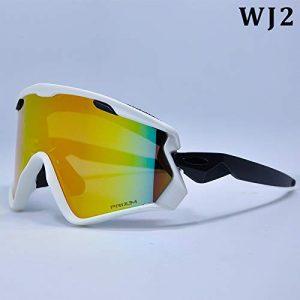 MUZIWENJU 2019 Nuevo Gafas de esquí Para Hombres y Mujeres Gafas de Surf des neiges Para esquí protección UV400 Gafas Para Nieve esquí antiniebla máscara de esquí (Couleur : WJ2)