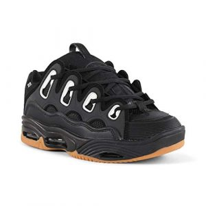 Osiris D3 Dave Mayhew Skate Skateboard Shoes Black Gum