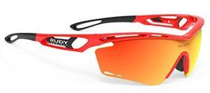 Rudy Project 2020 Lunettes de vélo Tralyx Rouge Fluo Gloss/multilaser Orange