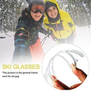 terferein Lunettes de Ski, Lunettes de Ski pour Hommes et Femmes, Double Pare-Brise sphérique Anti-buée, Lunettes d'alpinisme, myopie dédiée Relaxing Remarkable Lovable