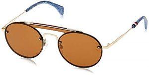 Tommy Hilfiger TH GIGI HADID3 70 J5G 99 Montures de lunettes, Or (Gold/Brown), Femme