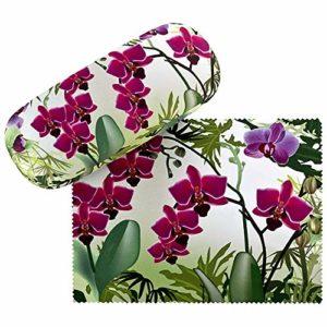 VON LILIENFELD Étui Lunettes Cadeau Femme Motif Floral Orchidées