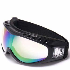 xianshi Lunettes de Ski de Snowboard réglables UV 400 de Protection pour Moto, h07