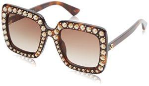 Gucci GG0148S 002 Montures de lunettes, Marron (Avana/Brown), 53 Femme