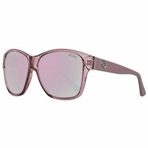 Guess Sonnenbrille Gu7412 57B-59-13-135 Montures de Lunettes, Beige, 59.0 Femme