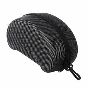 JERKKY Protection EVA Ski Goggle Case Lunettes de Soleil Portant Une Fermeture à glissière Boucle Boîte Rigide Titulaire