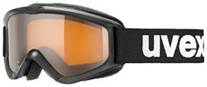 Uvex Speedy Pro Lunettes de Ski Unisex-Youth, Black, One Size
