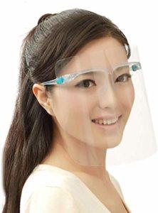 1PC Visières de Protection Réglablepour Le Visage en Plastique Écrans Faciaux Transparent Chapeau Anti-salive Anti-Gouttes Anti-Poussière Anti-Pollen