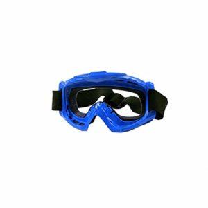 BJJH Masque de ski bleu