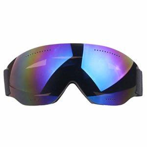 NA Accessoires pour lunettes de ski à couche unique lunettes de ski à courte vue adulte coupe-vent, bleu
