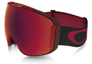 Oakley Airbrake Masque de Ski, Unisexe Adulte, Rouge