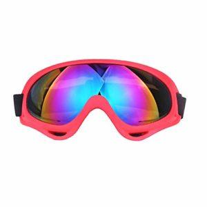 TOOGOO Coupe-Vent Lunettes de Ski Anti-UV Lunettes de Soleil éQuipement de Sport Professionnel Hiver Lunettes de Ski pour Enfants Hommes Femmes