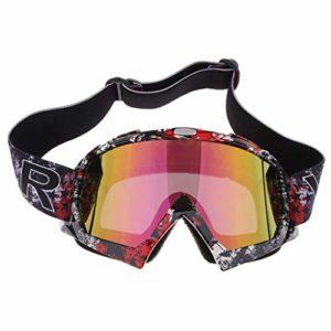 Shiwaki Lunettes de ski Snowboard Ski Lunettes de neige Racing Eyewear Lunettes de soleil d'hiver, coloré
