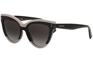 Valentino Lunettes de Soleil VA 4034 PINK BLACK/SMOKE SHADED femme