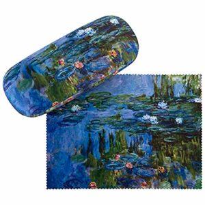 VON LILIENFELD Étui Lunettes Femme Motif Floral Art Claude Monet : Nymphéas