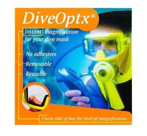 Autocollant-loupe de lecture pour masques de plongée, lunettes de ski, lunettes de natation, lunettes de soleil, Clear Bifocal Lens, 1.50
