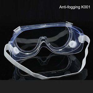 Bernart Lunettes de protection transparentes anti-éclaboussures coupe-vent pour la recherche industrielle équitation