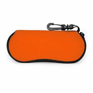 Étui à lunettes avec serrure à clé Orange (Pantone)