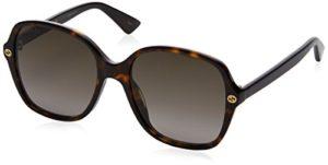 Gucci GG0092S 002 Montures de lunettes, Marron (Avana/Brown), 55 Femme