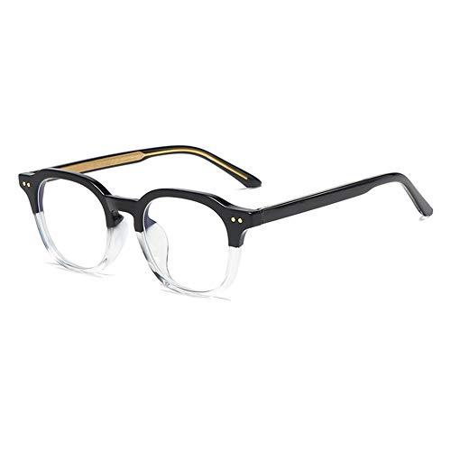 Lunettes de blocage de la lumière bleue, anti-lumière bleue, lunettes de jeu, lunettes de jeu confortables, lunettes Blu-Ray TR90 à la mode pour hommes
