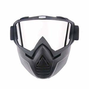 Lunettes de moto élastiques réglables de ski, snowboard, lunettes de sport avec PC antidéflagrant, lunettes de ski