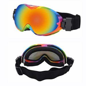 Masques de ski pour hommes et femmes Masques de ski anti-buée anti-ultraviolets Frame of myopia